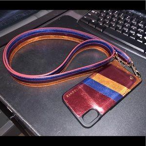 Bandolier - Iphone X - crossbody wallet case
